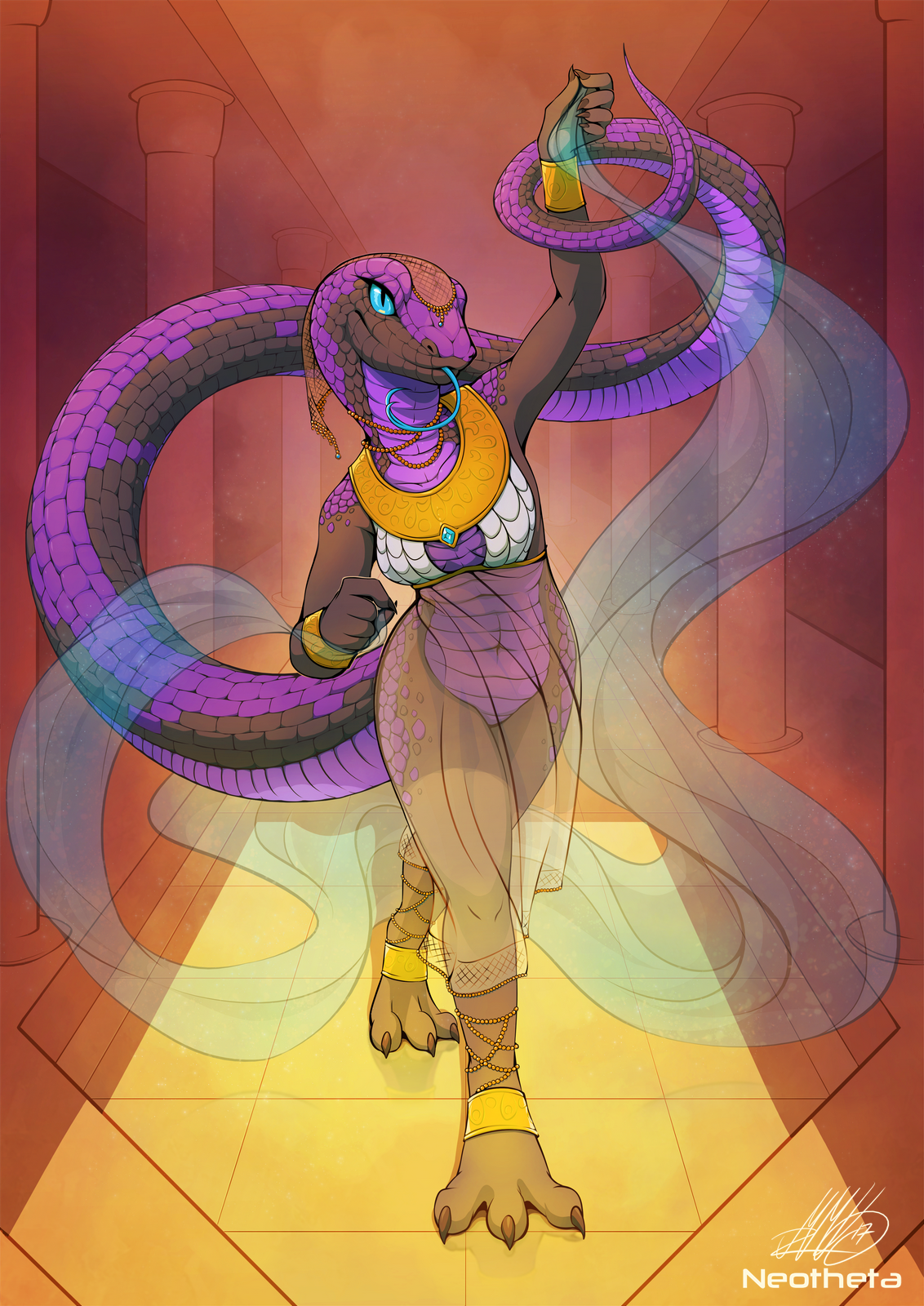 Snake Dance by Neotheta on FurAffinity
