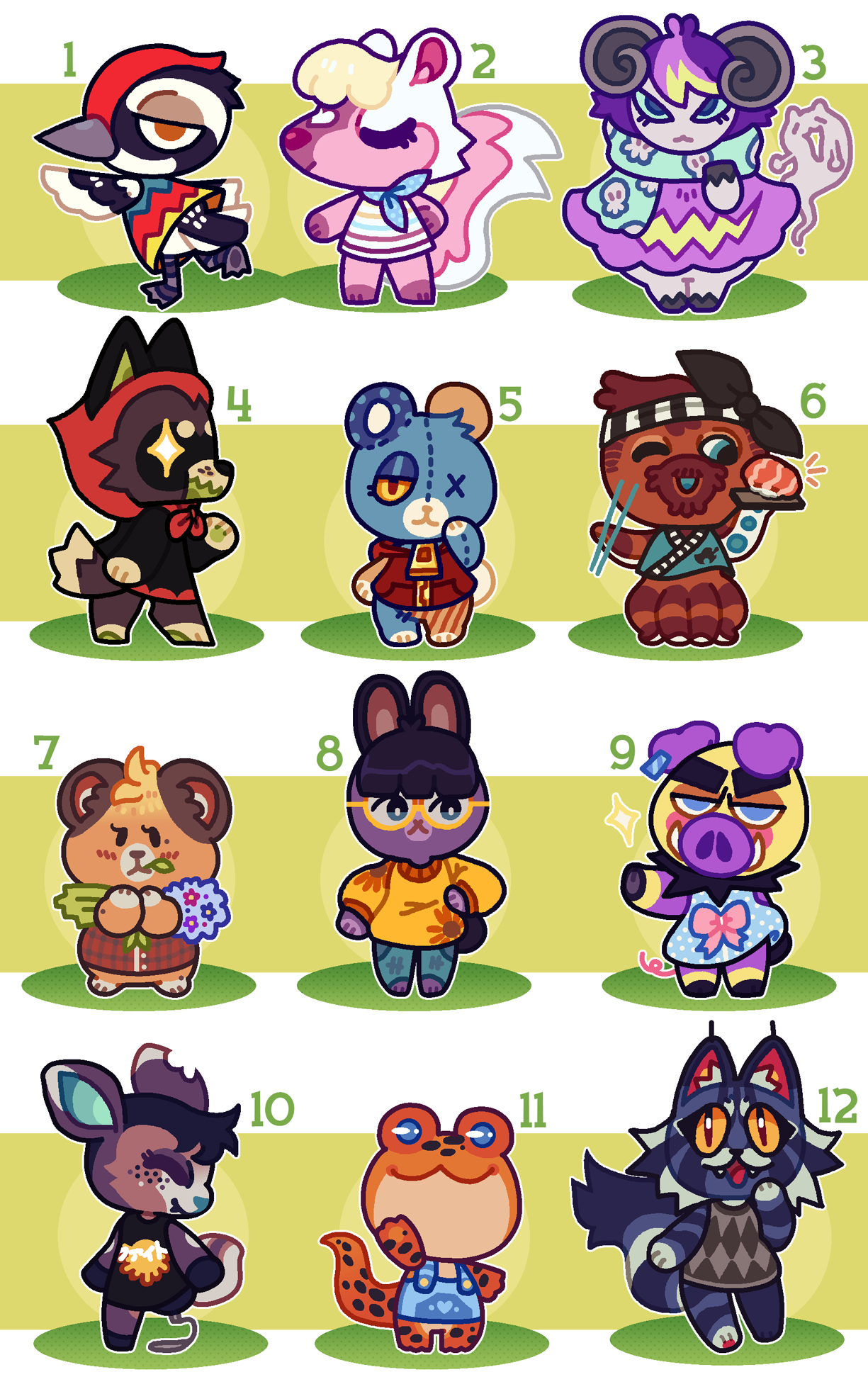 Animal Crossing Villager Adopts Closed By Thekingtheory Fur